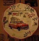 Better Homes & Gardens Christmas Tree On Car Salad Plate