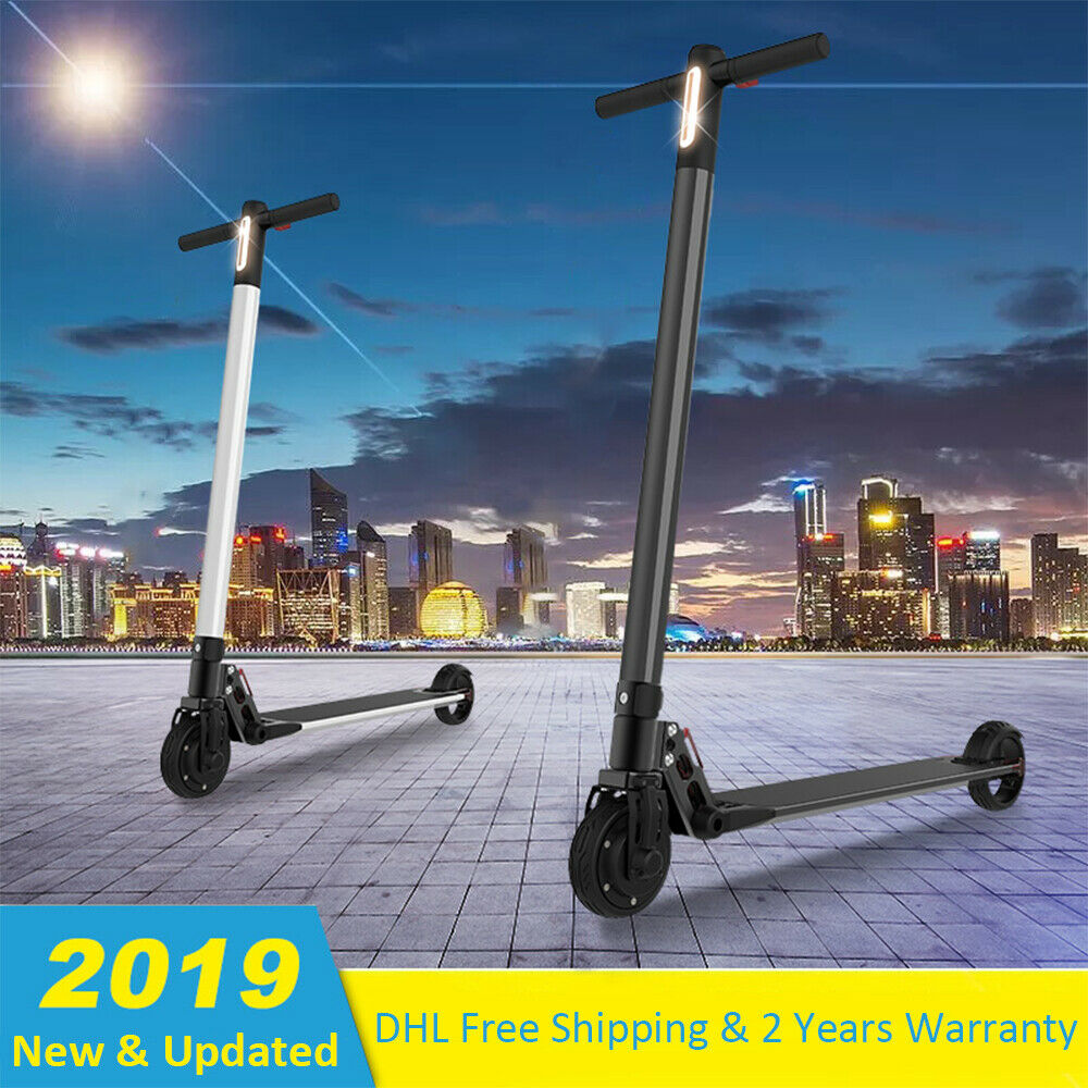 2019 New Top 25Km h 120kg Electric Scooter Adult Working Cityroller + LED Light