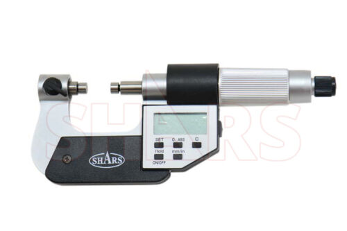 SHARS 0-1 Universal Anvil Electronic Micrometer