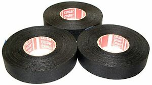 3x-TESA-kfz-Gewebeband-51026-19mm-x-25m-Isoband-Adhesive-Klebeband-MwSt-neu
