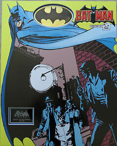 BOB-KANE-Signed-27x21-Mounted-Display-BATMAN-CREATOR-COA