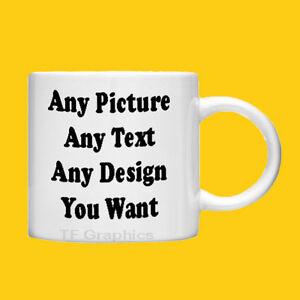 Custom-Personalised-Photo-Mug-6oz-Child-Size-Your-Design-Images-or-Text