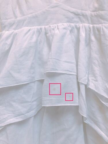 H le Robe superbes m contre Mode Boho volants à W longue Blanc volants à sida I4gwHqHd