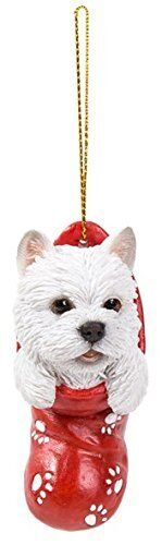 Vivid Arts-Hanging Christmas Stocking Pet Pals-West Highland-Décoration