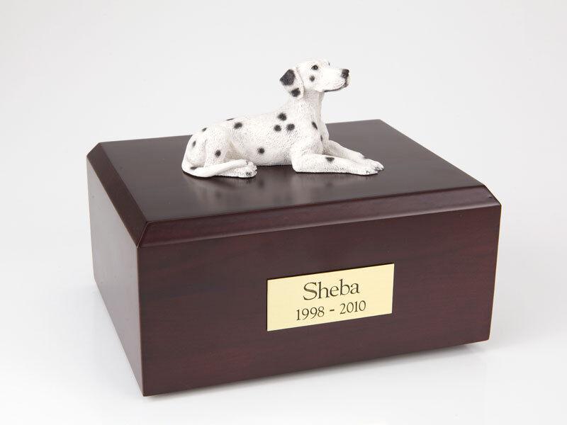 design semplice e generoso Dalmatian Pet Funeral Cremation Urn Available in 3 3 3 Different Colores & 4 Dimensiones  vendita di fama mondiale online
