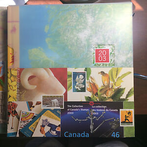 2003-CANADIAN-ANNUAL-SOUVENIR-STAMP-COLLECTION-YEARBOOK-strbx1