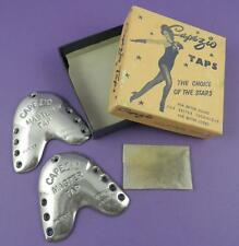 Capezio Taps For Tap Dance Shoes - Original Vintage Boxed Unused Stock Item