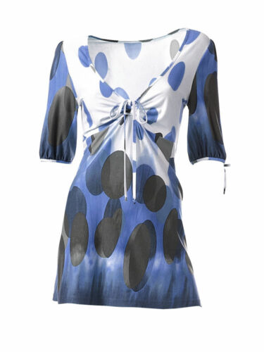 KP 49,90 € SALE/%/%/% Tunika-Shirt Heine 36 blau Gr NEU!!