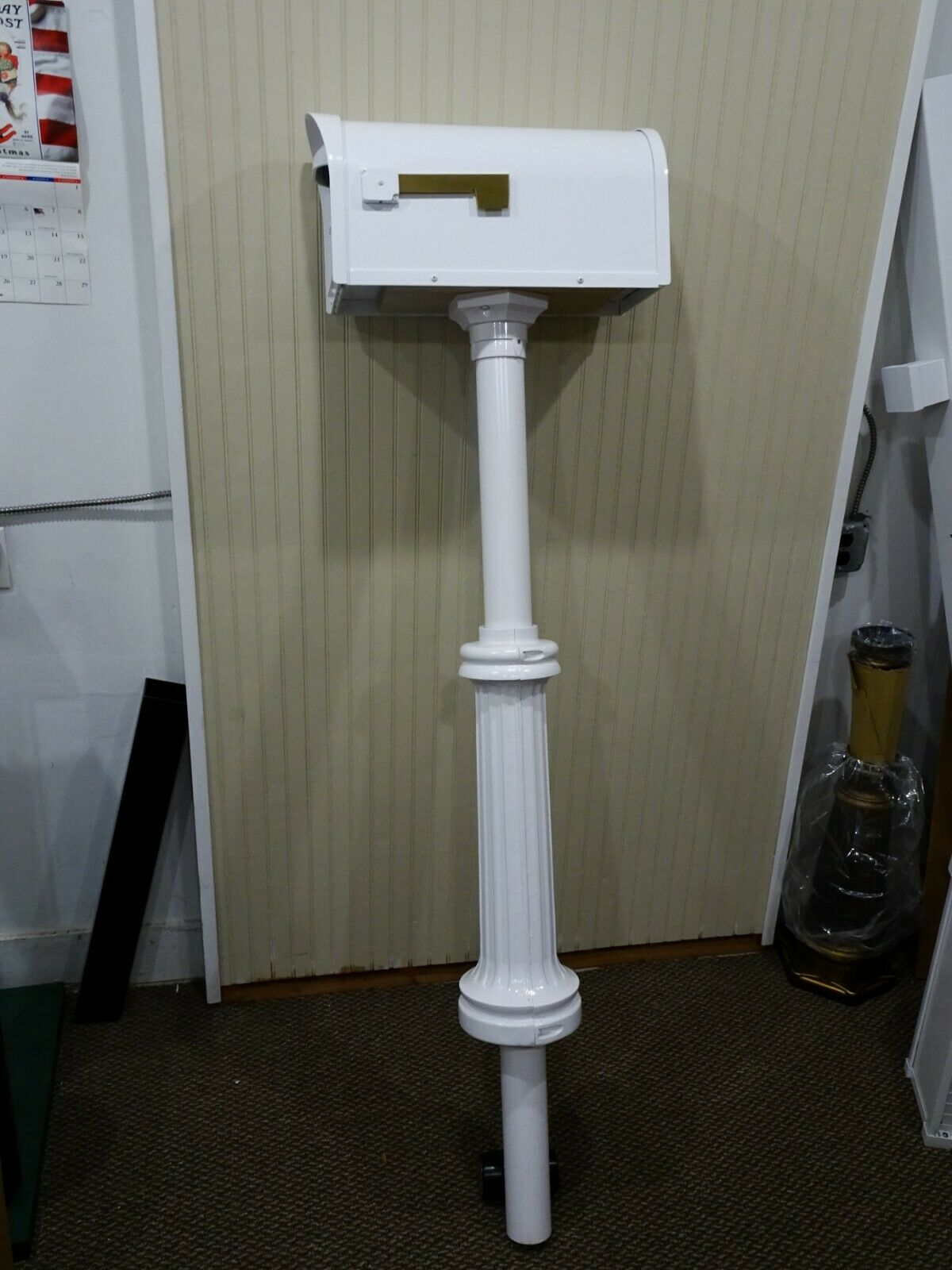 Special Lite Products Classic Mailbox With Post Included For Sale Online Ebay