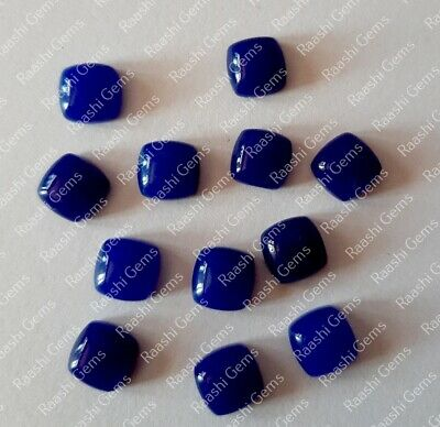 Details about  /Finest Lot Natural Blue Jade 6X9 mm Pear Cabochon Loose Gemstone