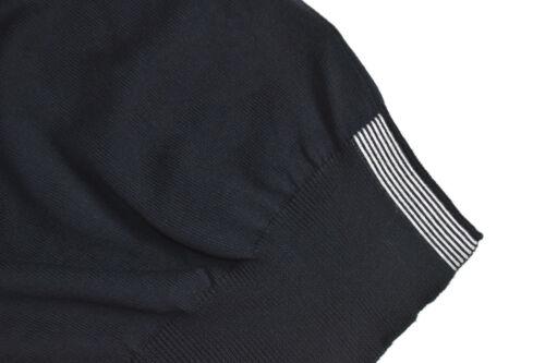 Emporio Armani V Knitted Pullover Blau Herren Men's neck Sweater Ea7 ar7qYxa