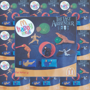 McDonalds-Happy-Meal-Toy-2010-Last-Airbender-Movie-Toys-Various-Figures