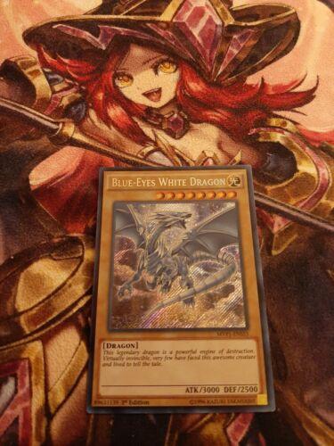 Blue-eyes White Dragon Secret Rare MVP1-ENS55 1st Edition Near Mint