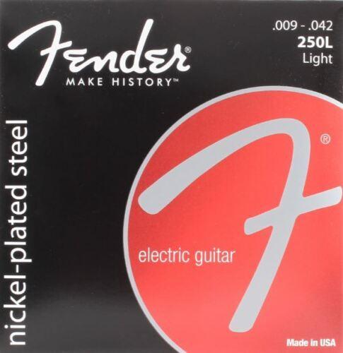 Jeu de cordes 250L FENDER 9 à 42 réf:073-0250-403 pour guitare électrique