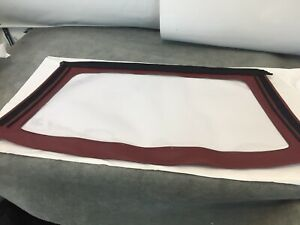 PEUGEOT-205-CABRIOLET-WINDOW-REAR-SCREEN-HOOD-MAROON