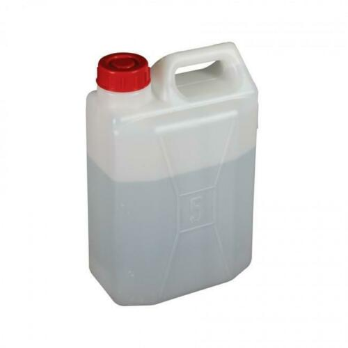 Water Container New Strong 5 Litre Plastic Jerry Can Pack of 2 water carriers
