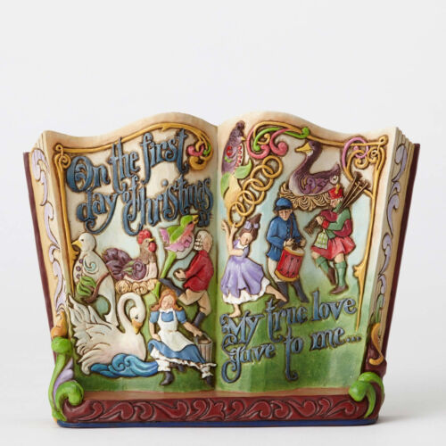 Jim Shore Twelve Days of Christmas Songbook Figurine ~ 4053715