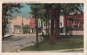 Postcard-Main-Street-and-Village-Park-Boonville-New-York-NY