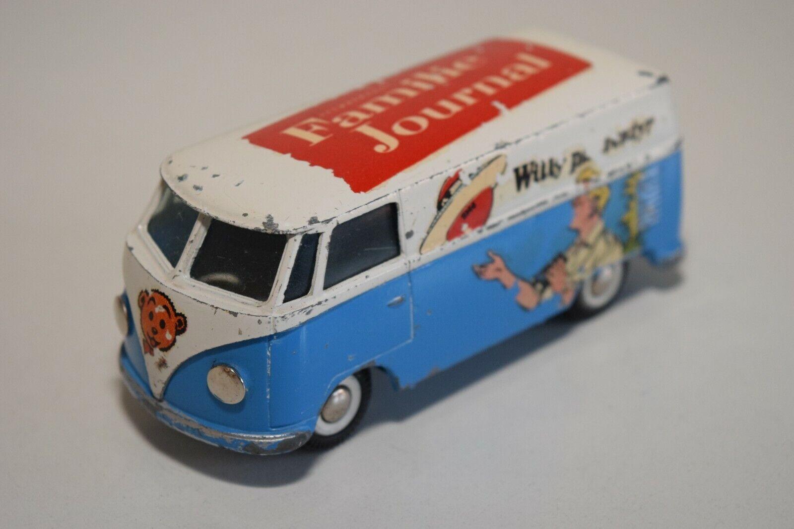 KK 1 43 TEKNO DENMARK 405 VW VOLKSWAGEN TRANSPORTER VAN FAMILIE JOURNAL EXC RARE