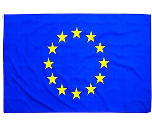 Fahne-Europa-Querformat-90-x-150-cm-Hiss-Flagge-europaeische-Union-12-Sterne