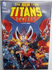 2013 DC COMICS SEALED NEW TEEN TITANS VOL 3 OMNIBUS GEORGE PEREZ 1ST HC STARFIRE