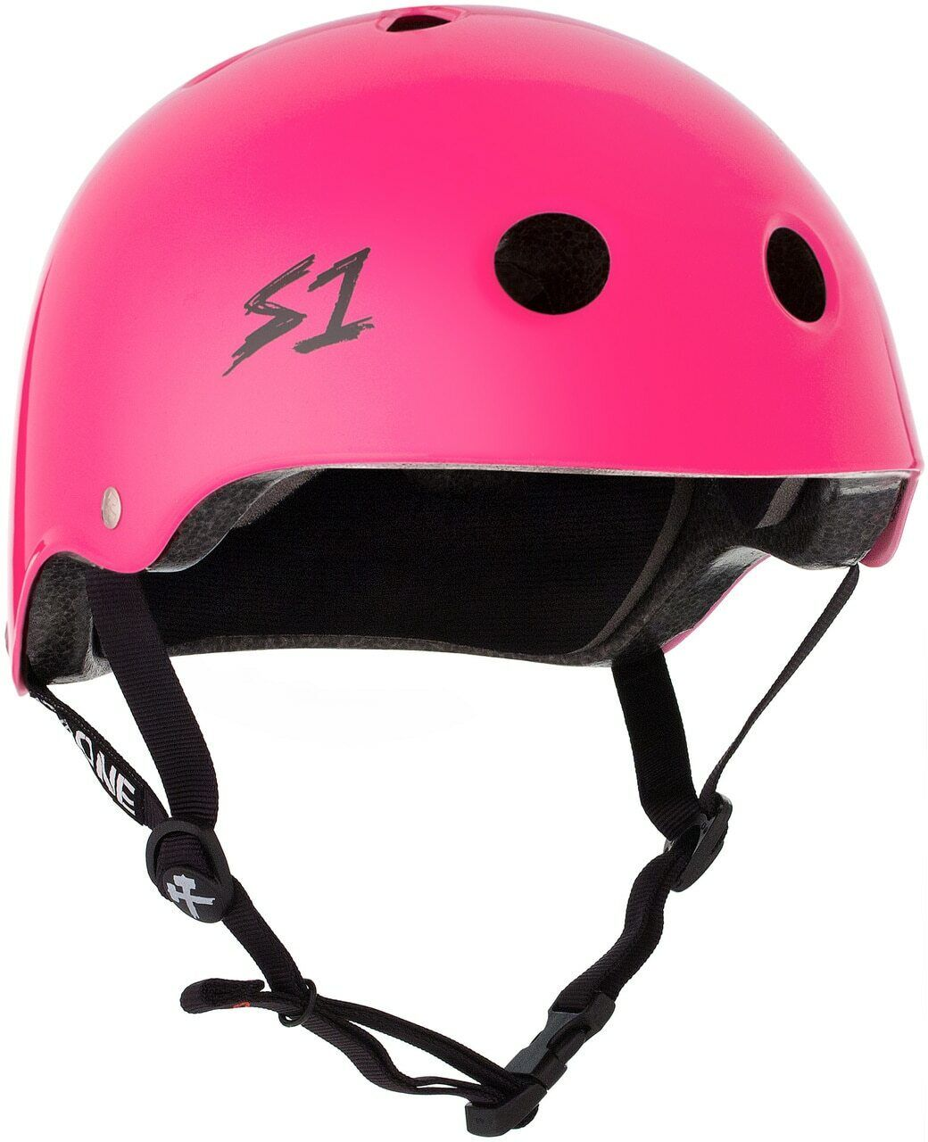 S1 Lifer Helmet - Hot Pink  Gloss  with 60% off discount