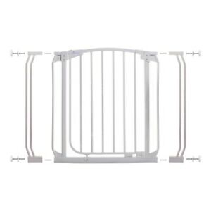 Details About Standard Height Security Gate Magnetic Auto Close Open Lock Door Swing Baby Safe