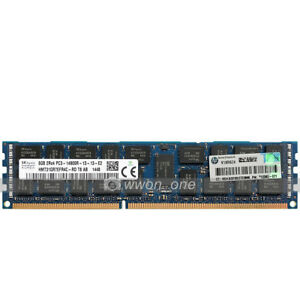 Hynix-8GB-2Rx4-PC3-14900R-DDR3-1866MHz-240Pin-ECC-REG-Registered-Server-Memory