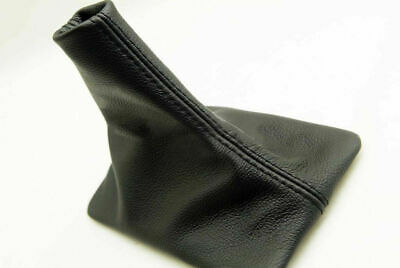 Fits 05-09 Ford Mustang Manual Shift Boot Genuine Leather Black