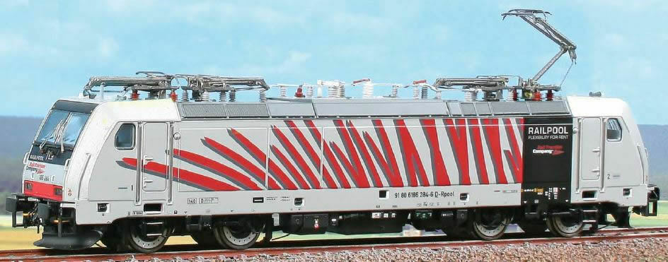 ACME 60409 TRAXX 186 284  Zebra  - Red  ++ Limited Edition
