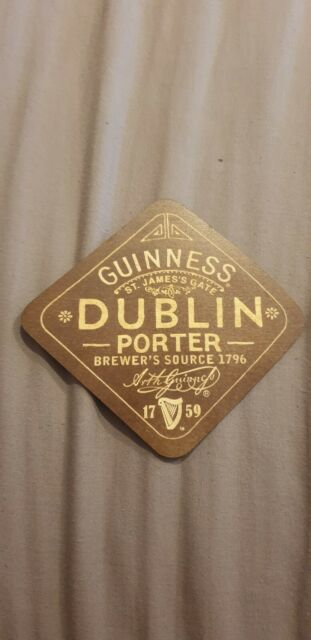 Mats West Indies Porter ! Rare Lot Of 5 Offical Guinness Wooden Coasters
