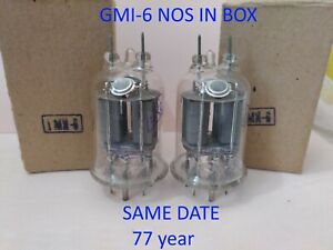 2-pcs-Powerful-pulse-modulator-GMI-6-tetrode-Soviet-vintage-tubes-NOS-in-Box