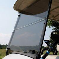 E Z Go Golf Cart Part Fold Down Clear Windshield Windshield, Ez T48 2+2 Bolt