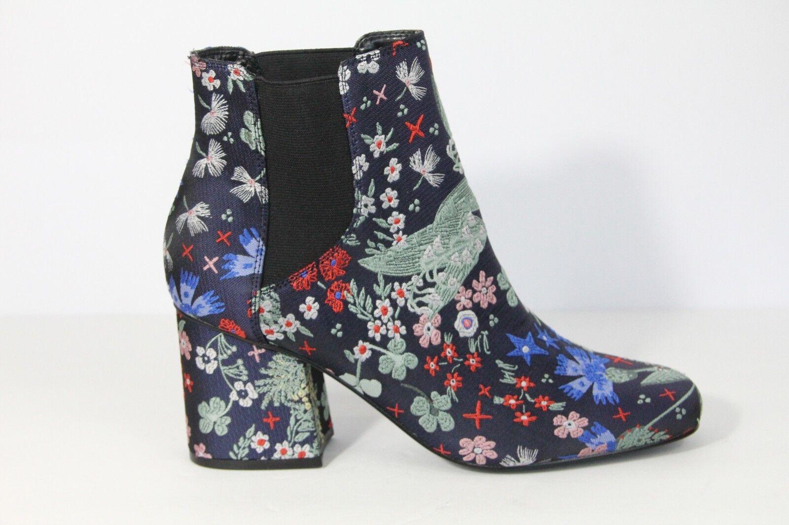 Indigo Rd. Damenschuhe Stiefel Fashion Schuhe Brocade Fabric Floral Chelsea sz 9.5 NEU
