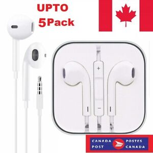 Earphones-Ear-Buds-Headphone-for-iPhone-4-5-6-7-8-X-XS-11-with-Mic-and-volume