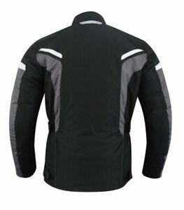 Motorrad-Textil-Jacke-Wasserdicht-Winterjacke-Motorrad-Roller-Winter-Jacke-Neu