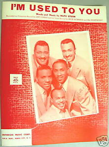 DELTA-RHYTHM-BOYS-Sheet-Music-I-039-M-USED-TO-YOU-Criterion-Publ-DOO-WOP-R-amp-B-Mint