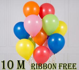 10-034-Latex-All-Mix-Couleur-Choisir-differentes-Imprime-amp-Uni-Fete-Decoration-Ballons