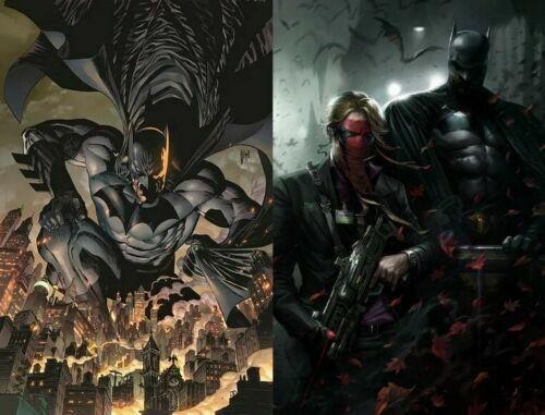 B Cover Set NM DC Ships Oct 20th Batman # 101 Cover A