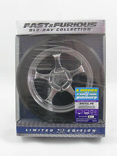 Fast and Furious 1-6 Collection - Limited Edition Blu-ray - WHEEL - Like NEW!