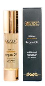 Moroccan-Argan-Oil-Deo-amp-Non-De-Odourised-100-Pure-Cold-Pressed-amp-Organic-50ml