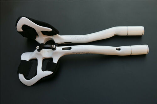 TEMANI Carbon Fiber Road Bike Handlebar TT Time Trial Triathlon Aerobar 31.8mm
