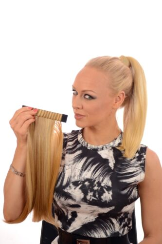 "Pony Band15/"" Sleek Long Snap Band Ponytail13 Natural shades"