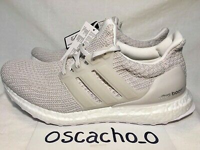info for 170a2 272bb Men's Adidas Ultra Boost 4.0 Trainers Sneakers Chalk Pearl Size UK 8  (BB6177) | eBay