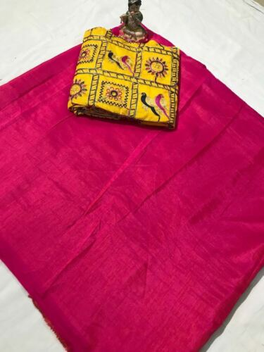 Indian Pakistani Ethnic Party Wear Sari with Fancy Embroidery Blouse saree