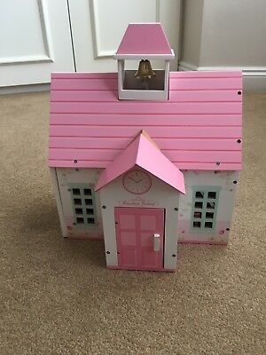 Early Learning Centre ELC Rosebud School Wooden Playset. Aged 3 8 | eBay