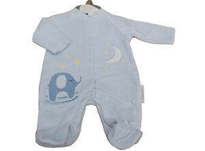 Nevo-con-Etiqueta-Pequeno-Baby-Prematuro-Preemie-Elefante-Terciopelo-Pijama