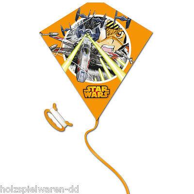"maro toys PL200XW Kinder Drachen ""Star Wars - XWing"" Plastic Diamond NEU!% Paket"