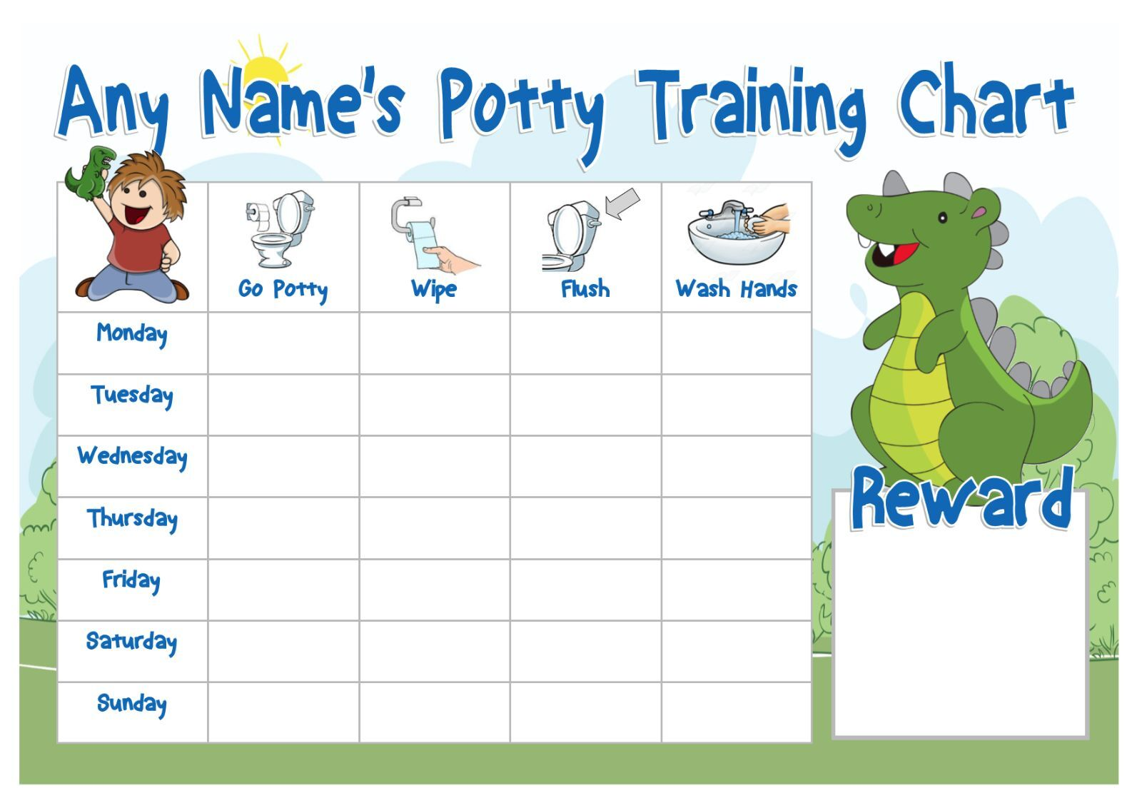 potty time chart
