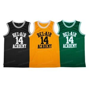 Will Smith #14 The Fresh Prince of Bel-Air Academy Basketball Jersey Stitched